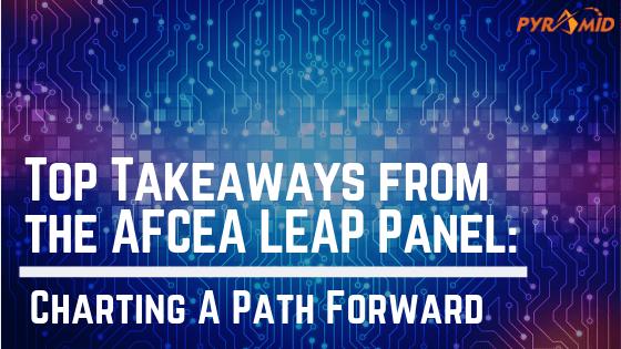 AFCEA LEAP Panel
